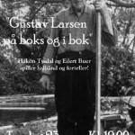 23/3-2006.  Årets første temamøte «Gustav Larsen på boks og i bok»