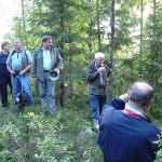 29/8-2006.  Rusletur langs Kvernstubekken i Ytre .
