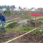 21/10-2006  Ryddeaksjon på Sollia igangsatt