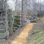 30/10-2006 Den nye stien langs Tangenelva barklagt