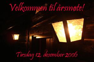 Årsmøte 2006