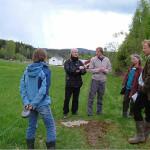 16/5-2007 Kulturminneverngruppa på befaring på Durud