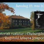 5/5-2008  Meld deg på våre historiske turer i Ragnhild Jølsens fotspor.