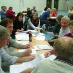 11/6-2008  historielaget markerte seg på årsmøtet i Romerike historielag
