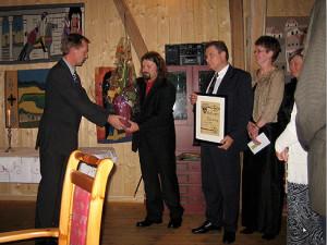 Hederspris 2008