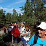 28/8-2009  Høstens første rusletur – Over lyserfjell