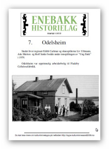 7  Odelsheim plakat