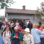 12/8-2007.  Bygdetreff ved Sagstudammen