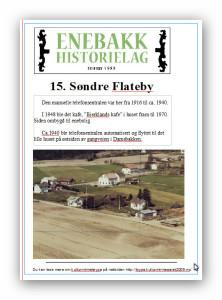 15  Søndre Flateby plakat