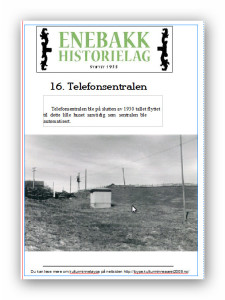 16  Telefonsentralenplakat