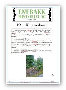 19  Klingenberg  plakat