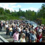 25/5-2008  Folkevandring i Ekeberdalen – i Ragnhild Jølsen's fotspor