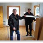 26/1-2007  Historielaget flytter inn i egne lokaler