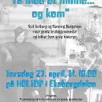 24/4-2006  Temamøte «Ta med et minne… og kom»