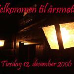 2/12-2006  Vi ønsker velkommen til årsmøte