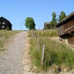 4/7-2006   Ny sti mellom elva og bygdetunet