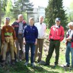 16/5-2006   Kulturminneverngruppa på vellykket Stranda-befaring!