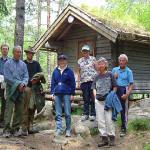 18/6-2006  Kulturminneverngruppa på befaring i Ytterbygda