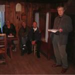 18/5-2006   Bygdetungruppa «prøvekjørte» ny omviserguide på Bygdetunet