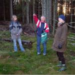 12/12-2006  Akershus fylkeskommune på befaring i Enebakk