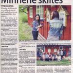 05/06-2014  Kulturminneløypa i Ytre blir nå skiltet.