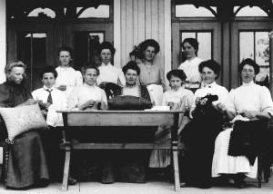 Amtskolen våren 1909
