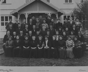 1908. Amtskolen i Enebakk