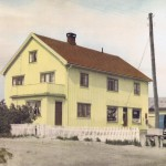 Bakke Landhandleri / posthus  /  Kirkeby