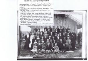 Dalefjerdingen skole 1898