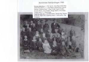 Dalefjerdingen skole 1900