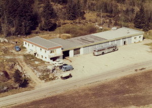 FLATEBY GARAGE VERKSTED 1965
