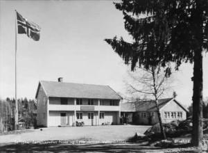 Feriehjemmet Nosa og Lysernbråten. Velferdshuset. 1956