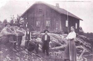Gressholt ved Vågvann 1915 0229-001-0106