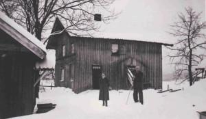 Lotterud  Kirkebygda 1945   0229-001-0028