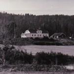 Rustad gård ved Langen  Ytre Enebakk