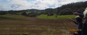 Utsikten blir diskutert hvike gårder ser vi her
