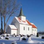 Enebakk kirke vinter