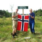 14/6-2015  Frigjøringsjubileet 1945 – Tur til slippstedet i Enebakkskogene
